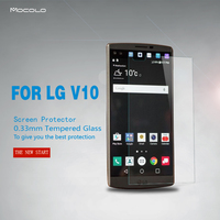 Smartphone Accessories 9H Premium Tempered Glass Screen Protector Film For LG V10