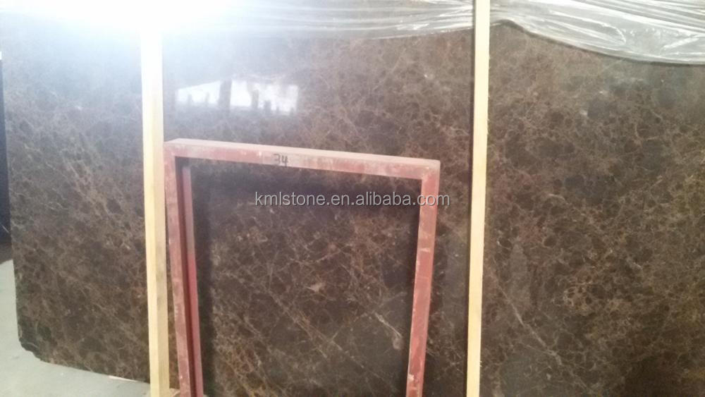 Light Emperador marble floor tile