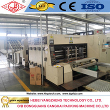 Automatic corrugated paperboard packing machine of flexo printing slotting die-cutting machine