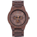 Switzerland quality handmade wood wristwatch