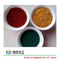Bayferros paint pigments 95% fe2o3 iron oxide black and ferric oxide brown red yellow for ceramic color/concrete/paver
