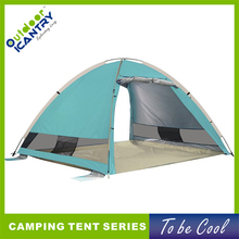 Hot sale camping big bed tent waterproof camp out high cost performance cheap pop up beach tent