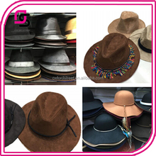 soft felt suede boho tassels floopy hats fall winter wear
