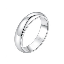 Wholesale 925 jewelry men blank silver ring made in China