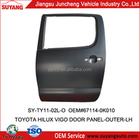 Toyota Pickup Body Parts Rear Door for Hilux Vigo(Double Cabin) 2005-2012