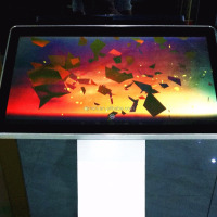 Interactive Screen Multitouch Monitor Infrared Touch