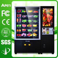 fresh fruit/vegetables/salad/glass bottle vending machine with lift system