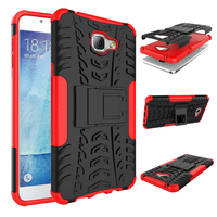Hard plastic waterproof shockproof case cover for alcatel phone, back case 2 in 1 for alcatel flash 2 case