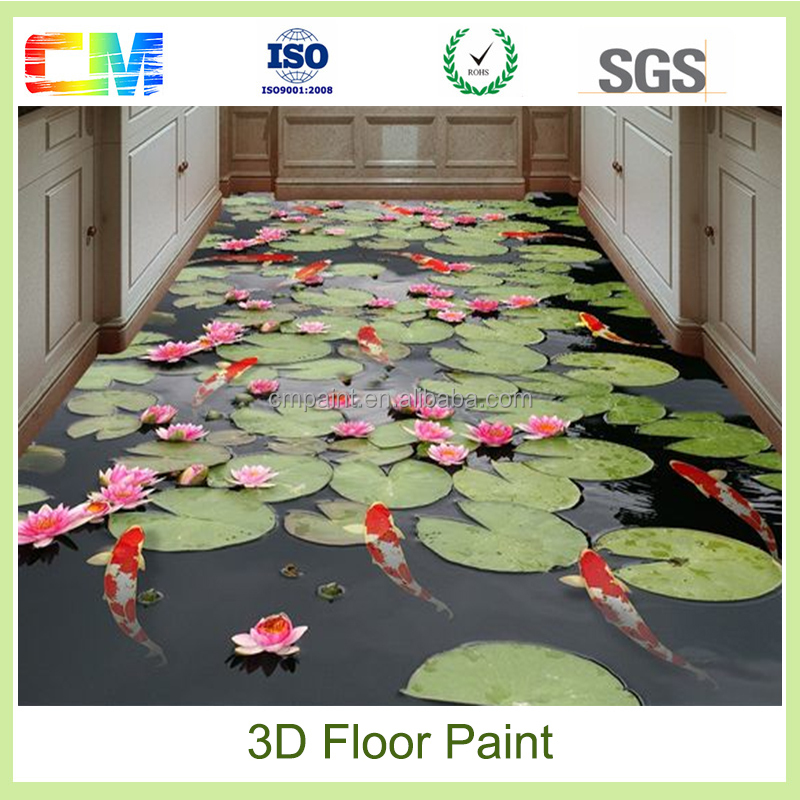 Alibaba online shopping spray paint 3d flooring,epoxy 3d floor paints coatings made in china