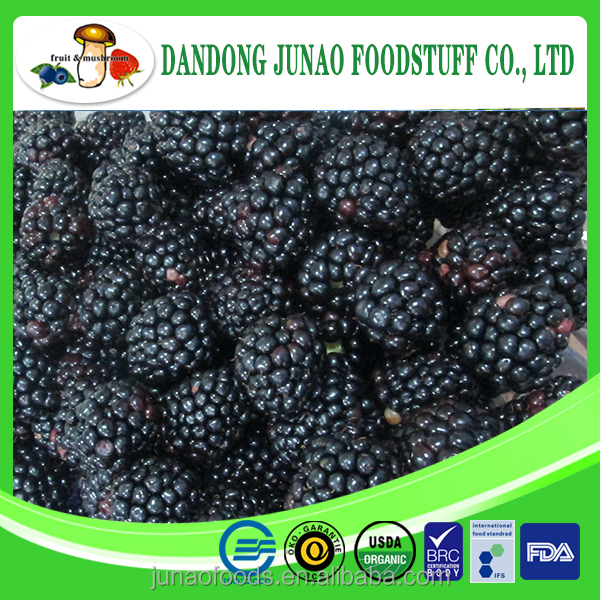 Berries Product Frozen Blackberry Grade A