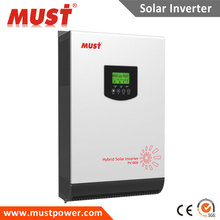 off grid hybrid solar inverter 5kva 4000w 48V to 220V pure sine wave built-in MPPT 80A solar