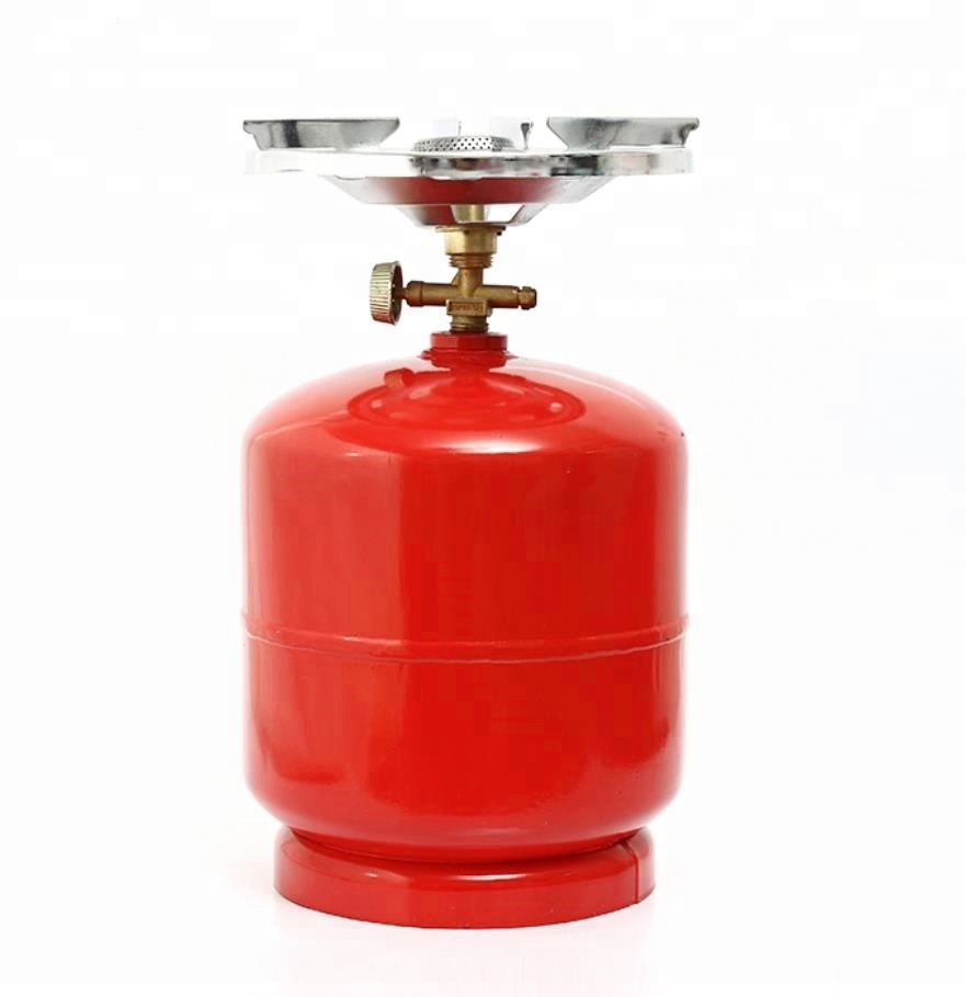 Ukraine 2kg 3kg 5kg LPG Empty Gas <strong>Cylinder</strong> With Stove,Low Pressure LPG Liquid Bottle,Gas Cooktops Camping LPG Gas <strong>Cylinder</strong>