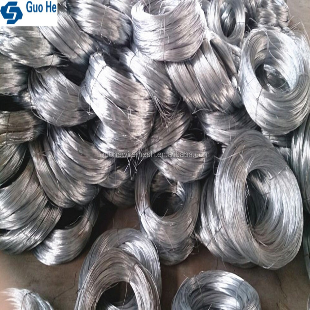 Anping factory galvanized wire for paper clip with low price