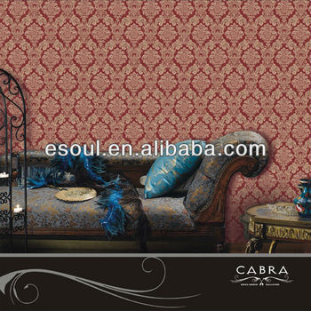 New style hotel PVC decorative wallpaper