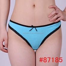 hot sell daily women cotton bikini panties women thong ladies briefs g-string thong