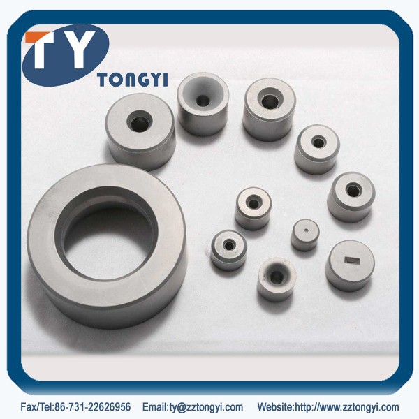 Type 21 Wall thickness reducing carbide die nibs for drawing metal tubes