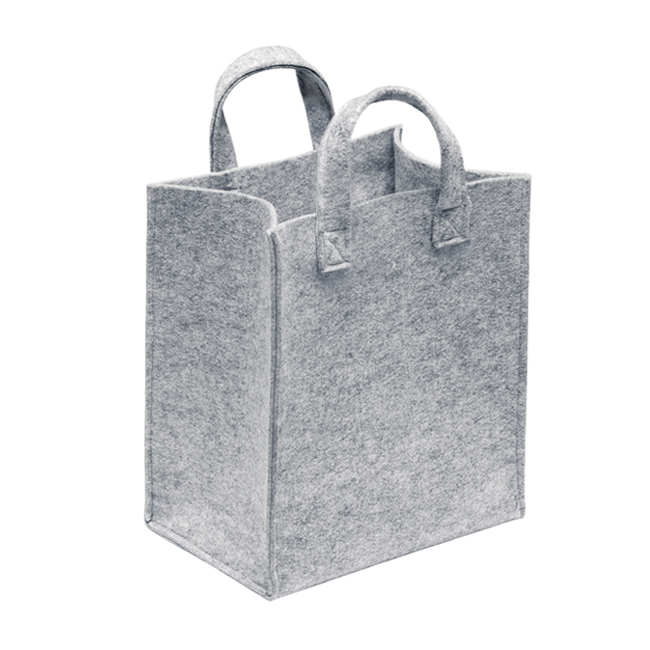 OEM lady felt tote bag handbag shoulder shopping bag