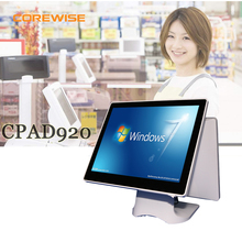 15 inch dual touch screen ordering pos system for restraurant