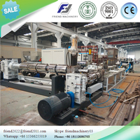 Double stages PE film recycle granulating machine/Plastic film granulating machine