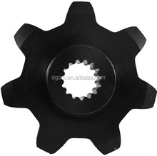 Custom high quality large sprocket motorcycle drive sprocket prices