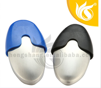 Fashion Design Stainless Steel Oval Soap Case