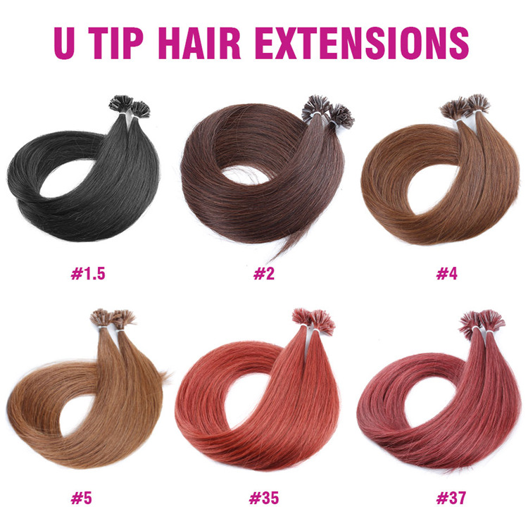Best Quality Pre-Bonded Hair I Tip U Tip V Tip Pre Braided Hair Extensions