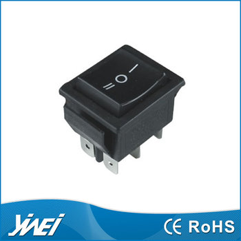 3 position momentary rocker switch ON-OFF-ON 6pin 3 way switch YW1-505