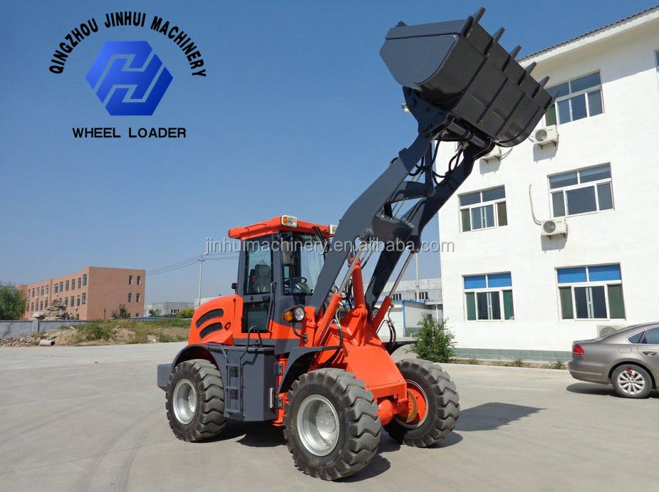 2 ton wheel loader with good engine