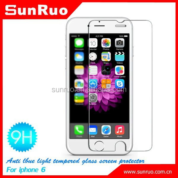 Japanese blue light cut glass film for iphone 6, for iphone6 tempered glass