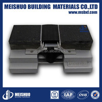 50mm 75mm joint width simple fixing rubber flush concrete expansion joint