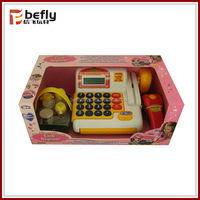 Plastic electronic cash machine toy