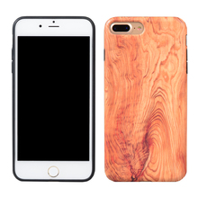 Wholesale alibaba soft tpu wood phone cover for iphone 7 plus case