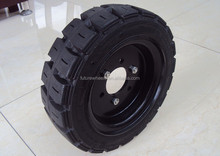 ANYGO brand 21x9x15 (533x229x381) press on solid tire ,Forklift solid tyre/tire ,solid cushion tire XZ06