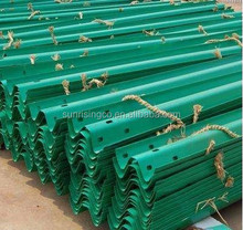 galvanized steel crash barrier