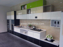 RTA Hangzhou prefab homes interior decoration 2014-2015 new Economical And Practical Project Unique kitchen cupboard company