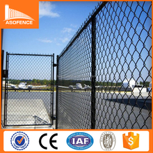 Super quality good price 6ft decorative pvc coated chain link fence