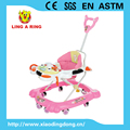 walker withpopular lovely toys musical and flashing baby walker
