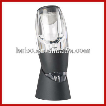 LED vinturi wine aerator wine decanter in stock, small order accept