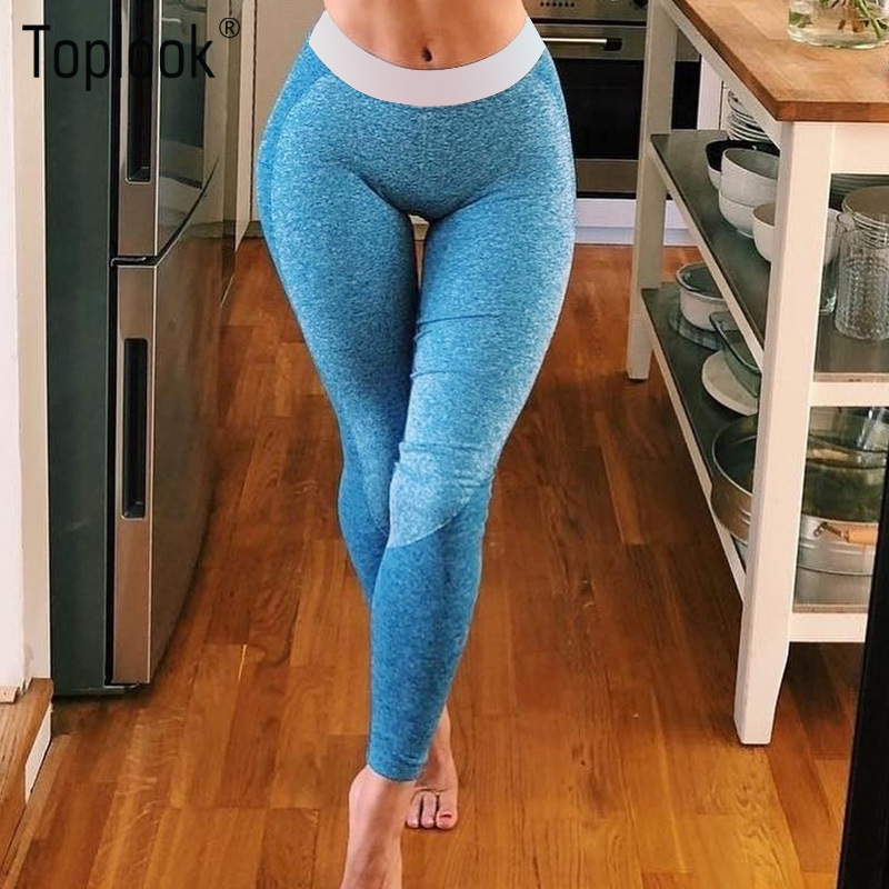 Toplook Stitching Yoga Pants Sexy Fitness Leggings Butt Lift Women Sportswear Sialkot Pakistan Gym Clothing L307