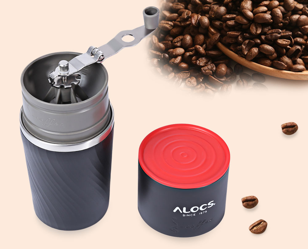 ALOCS CW - <strong>K16</strong> 4 In 1 Portable Outdoor Camping Multifunction Coffee Mug Grinding Machine