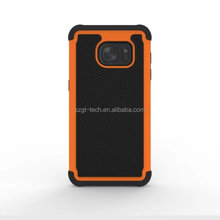 For samsung galaxy S7 G9300 ,3in1 defender combo case ball pattern PC silicone defender combo case