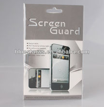 High Quality Film Screen Protector For iPhone5 clear screen protector (High clear)