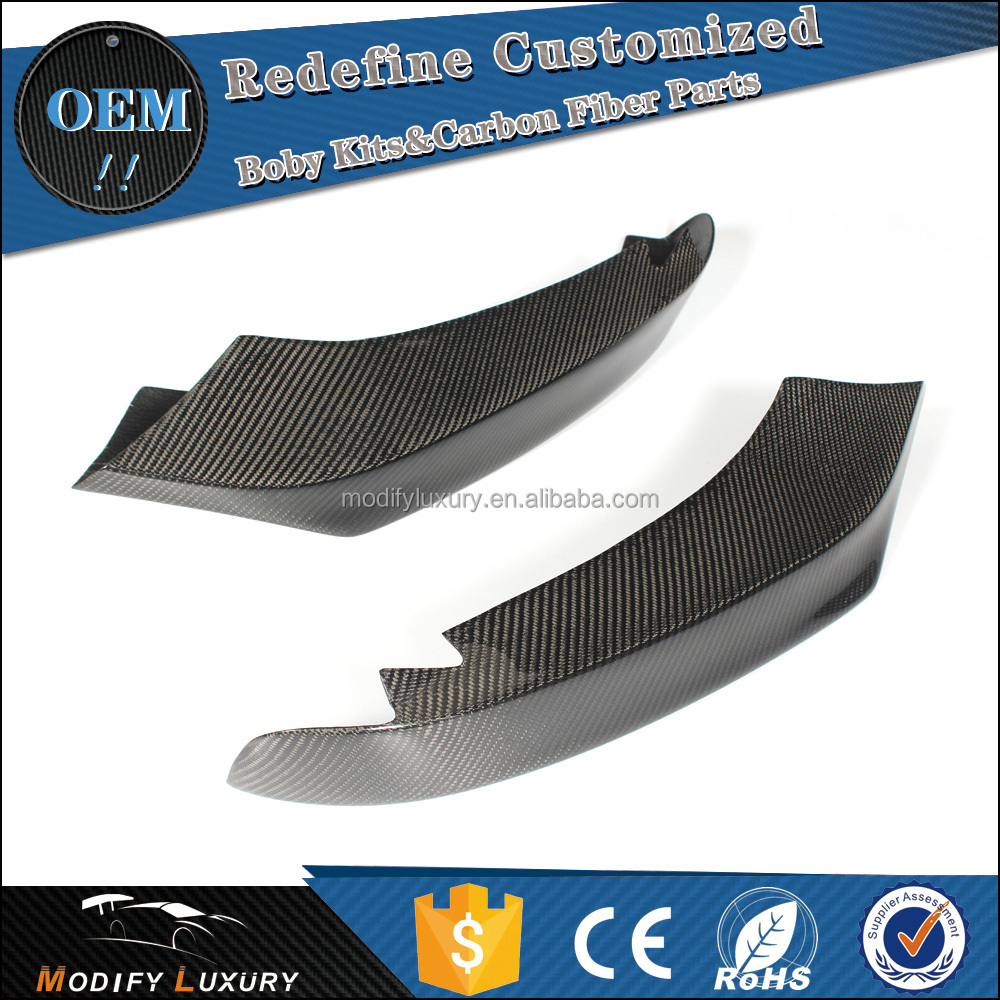 ML Style Carbon Fiber F32 Front Splitters for BMW F32