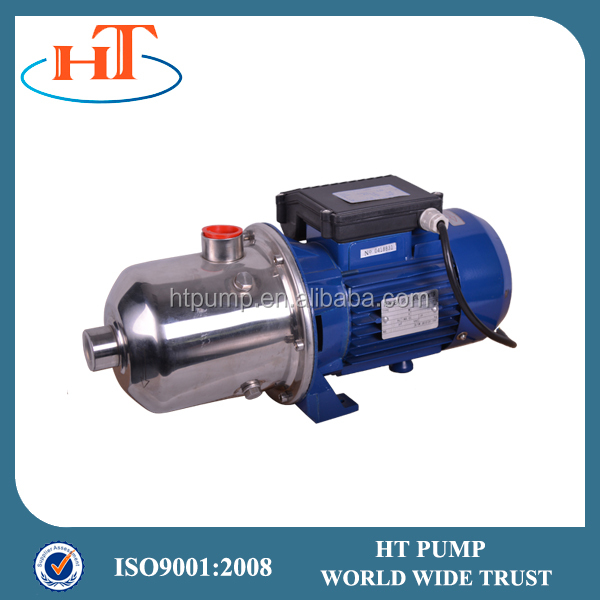 Stainless Steel horizontal multistage two impeller centrifugal pump