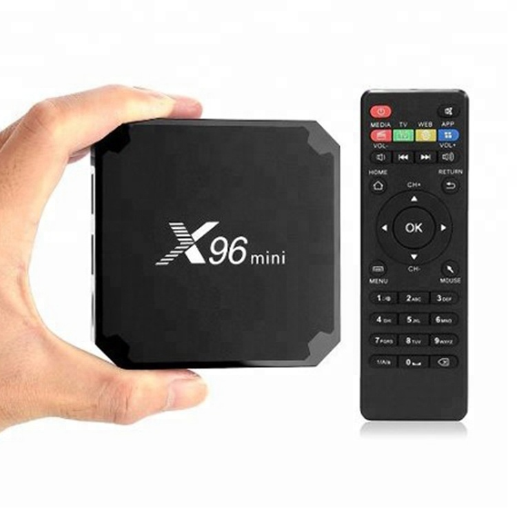 1Chip X96 Mini Android 7.1.2 Smart TV Box S905W Quad Core 2+<strong>16GB</strong> With 2.4G WIFI 4K Android TV Set Top Tv Box