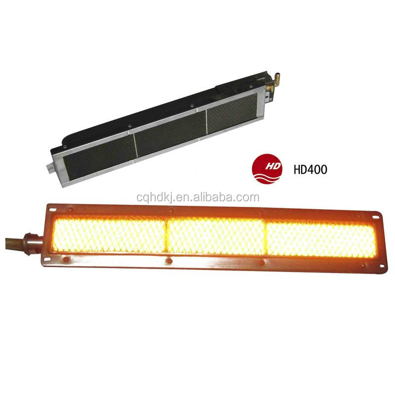 Single bbq grill infrared ceramic heater 220v