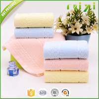 Solid Dyed Cotton Terry Towel Jacquard Face Towel Jacquard