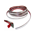 Auto Chrome Decorative Trim 3M Adhesive Styling Moulding