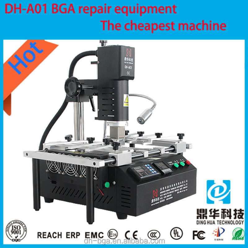 Dinghua bga machine smd welder rework computer motherboard repair machine/ps3 game mother board DH-A01