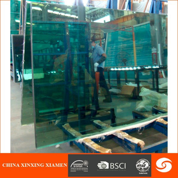 hot sale safe laminated glass bulletproof glass for bank vehicle shop